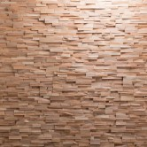 mur en bois rosa