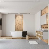 mur en bois fractus