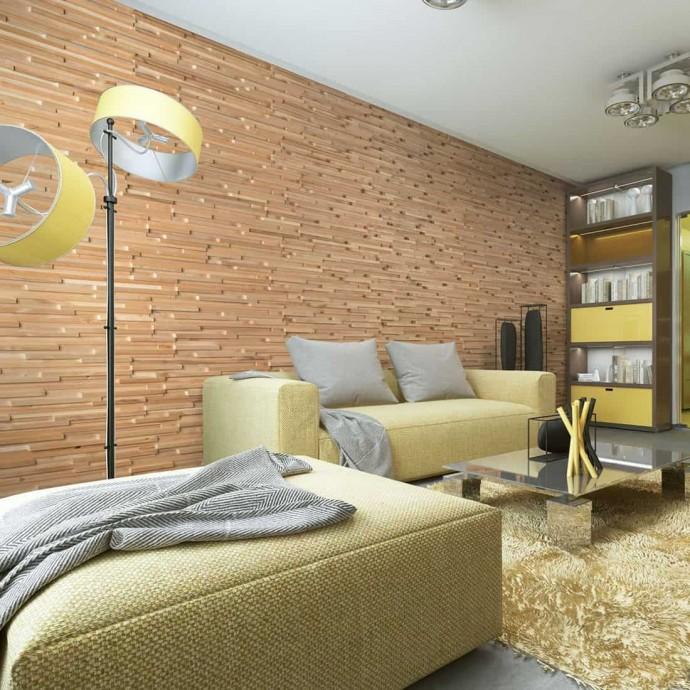 mur bois woodwall