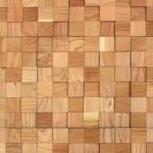 Mur parement bois cerise