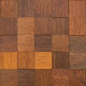 plaque de bois autocollant