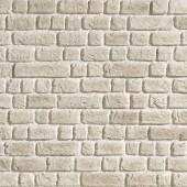 mur en brique blanche