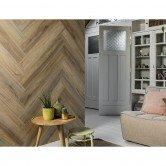 mur imitation bois vinyle