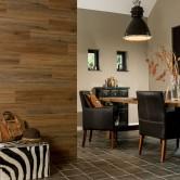 mur effet bois wallart