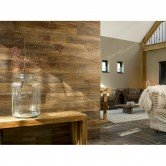 lambris bois style industriel