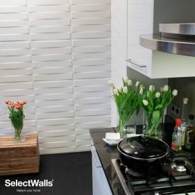 Parement Bois 3D Finn - 2,5 m² SelectWalls