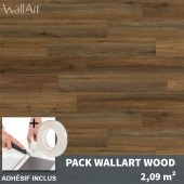 lambris adhesif imitation bois