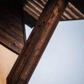 bardage bois carbonisé