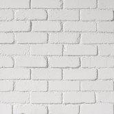parement brique blanche mur intérieur