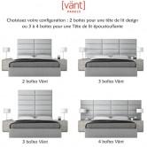 Configuration possibles panneaux tête de lit