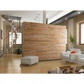 décor panneau de bois chêne