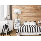 habillage panneaux bois intérieur