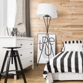 panneau bois tête de lit