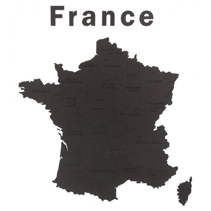 carte de france deco