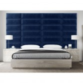deco tete de lit bleu