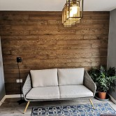 habillage bois mur