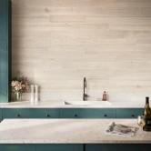 revêtement mural adhésif bois blanc