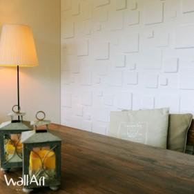 Panneau Mural 3D Squares - 3 m²