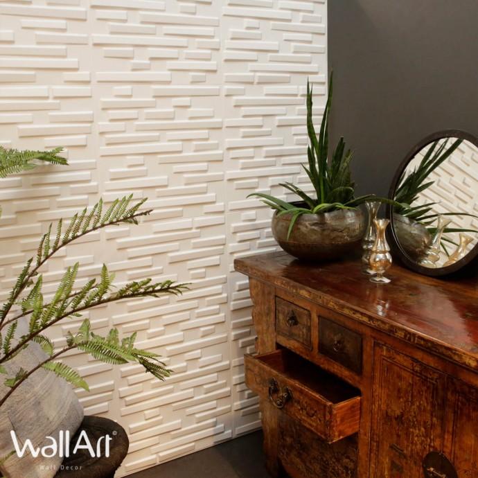 Panneau Mural 3D WallArt Decor...
