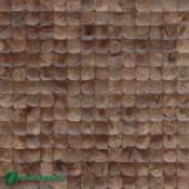 Panneau mural Cocomosaic - Parement bois Cocomosaic Espresso Bliss