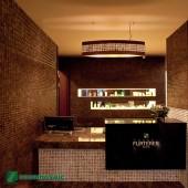 Décoration murale magasin - Parement bois Cocomosaic Espresso Bliss