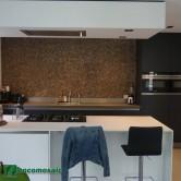 Décoration cuisine avec les panneaux bois - Parement bois Cocomosaic Natural Bliss