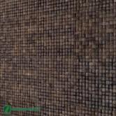 Parement bois mural - Parement bois Cocomosaic Espresso Grain