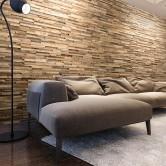 Déco salon moderne - Parement Bois WoodWall Taiga