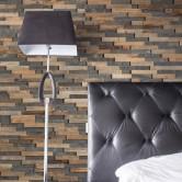 Déco chambre - Panneau Mural Bois Bravo