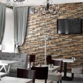 Décoration murale salon moderne - Panneau Mural Bois Bravo