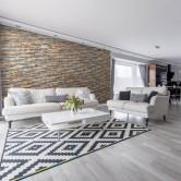 Décoration salon moderne - Panneau Mural Bois Bravo