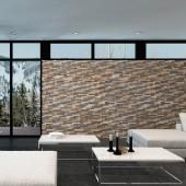 Mur en bois décoratif - Panneau Mural Bois Bravo
