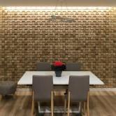 Panneaux muraux - Panneau Mural Bois Massif