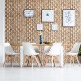 Décoration tendance - Panneau Mural Bois Massif