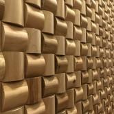 Mur en bois massif - Panneau Mural Bois Massif