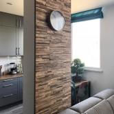 Mur en bois - Panneau Mural Bois Brut