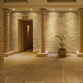 Décoration salon de massage - Panneau Mural Bois Brut