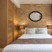 Deco chambre - Panneau Mural Bois Brut