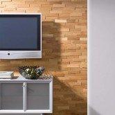 Panneau mur bois - Revêtement Mural Bois Chêne Huilé