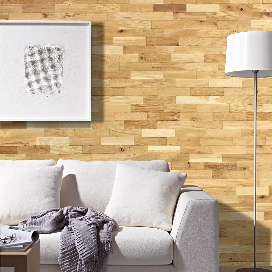 Revêtement mural Chêne Rustique Huilé  Parement bois Mural