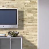 Mur tv - Revêtement Mural Bois Chêne Rustique Nature