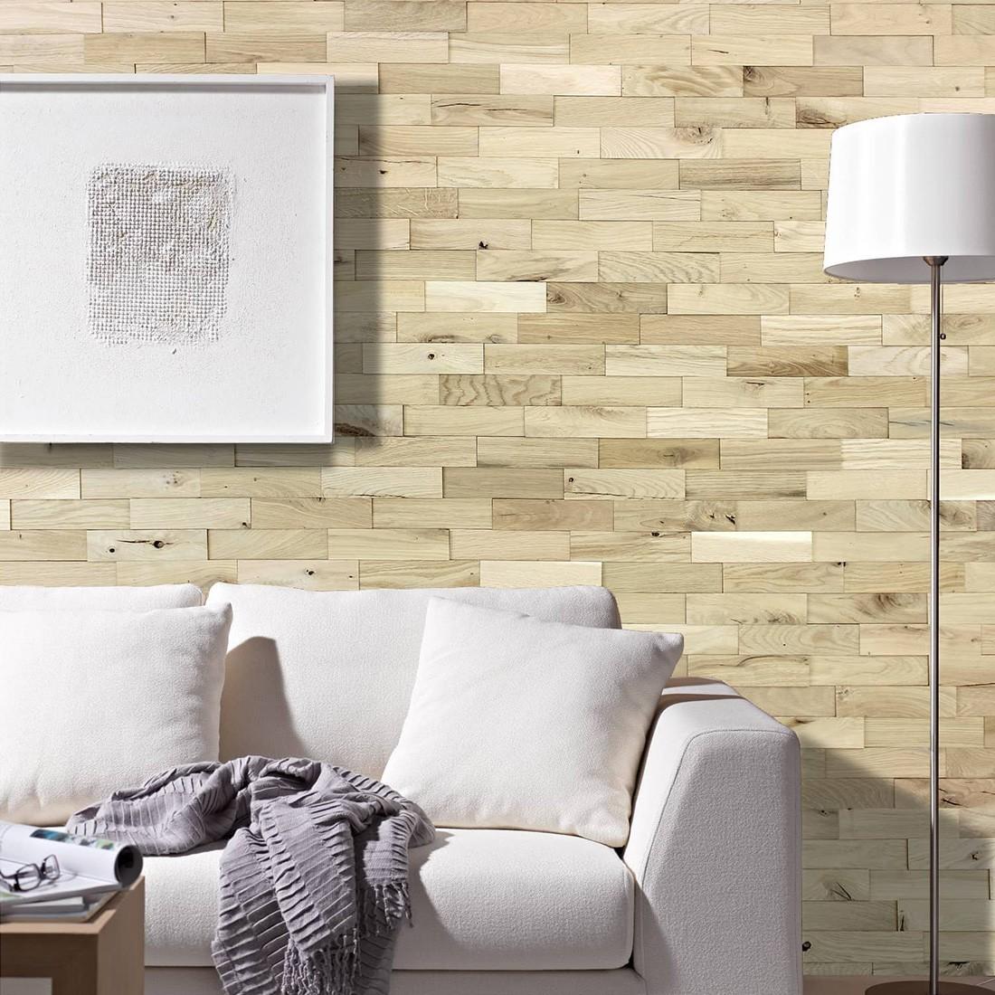Revêtement mural Chêne Rustique  Parement bois Mural
