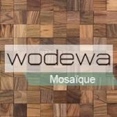 WODEWA - Plaquette Parement Bois Adhésive Mosaïque Bois Adhésif