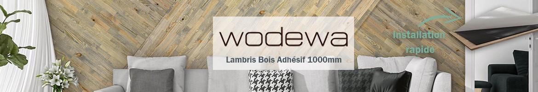Revêtement Mural Bois Décoratif - WoodWall : Plaquettes en Bois 400mm