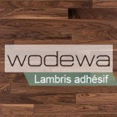 WODEWA – Lambris Bois Large Adhésif