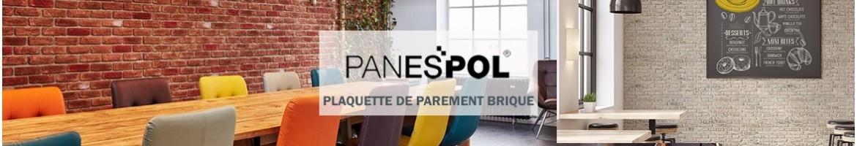 Plaquette de Parement Brique | Brique de Parement & Briquette Panespol