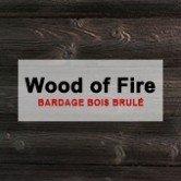 WOOD OF FIRE - Bardage Bois brûlé planche bois brulé