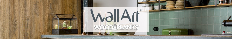 WallArt | Lambris pvc imitation Bois - Vinyle effet Bois Parquet Mural