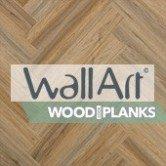 WallArt Wood Look Planks - Vinyle Lambris pvc Imitation Bois