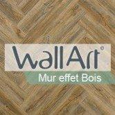 WallArt - Mur effet Bois